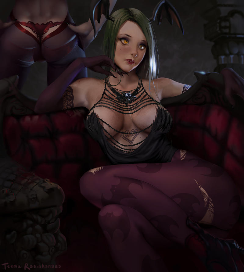 Morrigan Aensland by TeemuTaiga