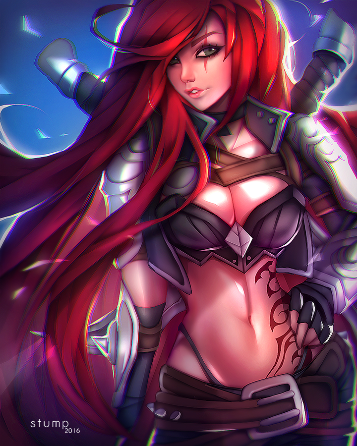 Katarina by Stumpu on DeviantArt