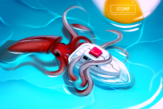 Baby Kraken Attack