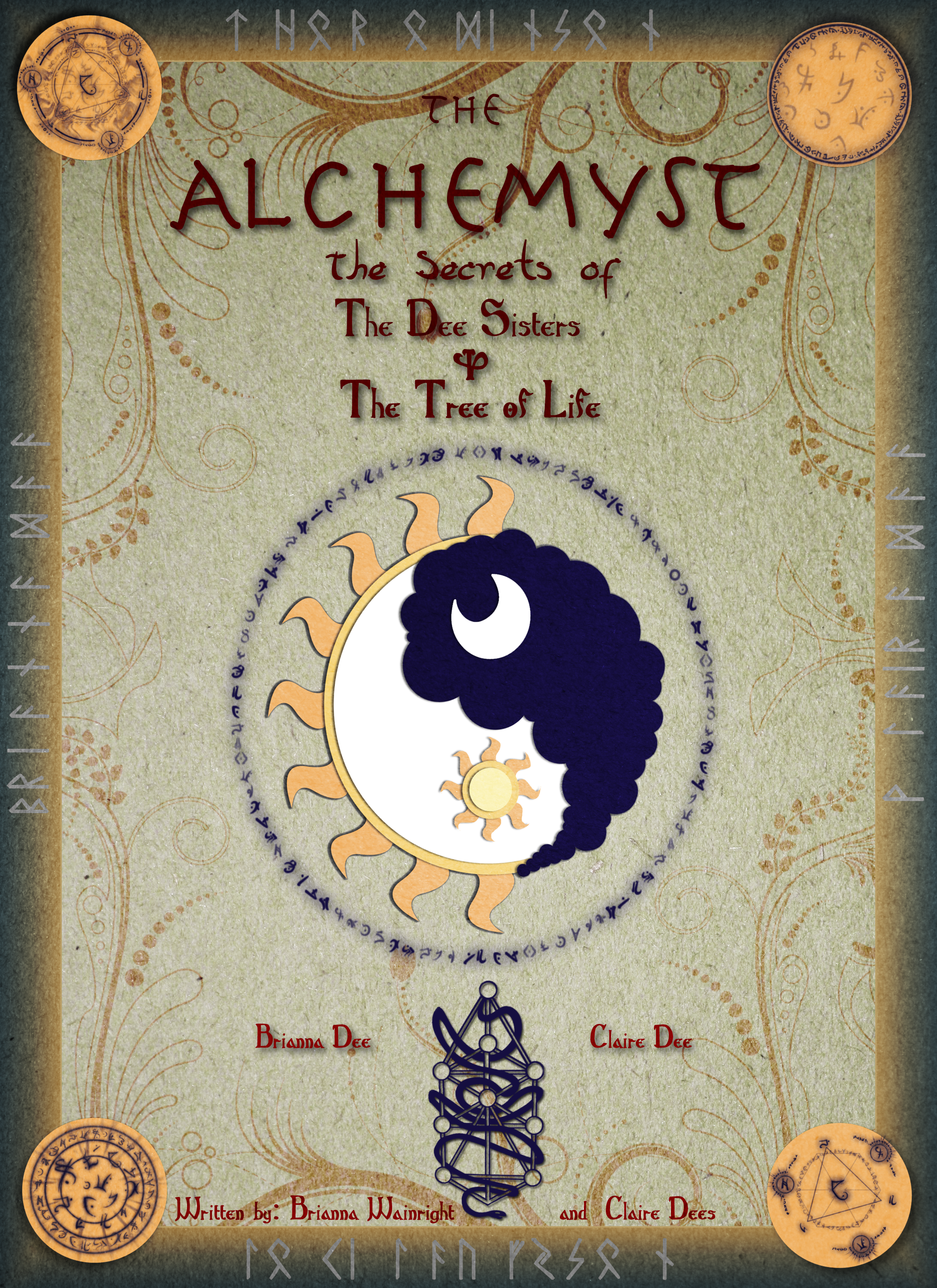 The Alchemyst Secret Of The Dee Twins Book Coverby Dracosderpyhoof  Secrets Of The Immortal Nicholas Flamel