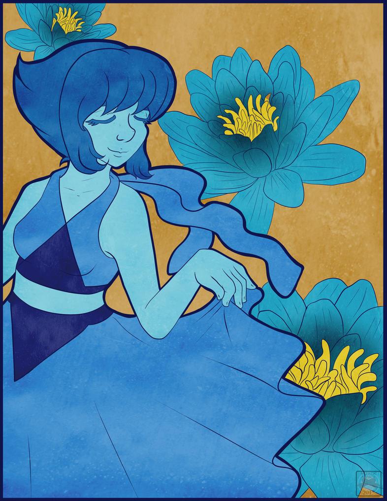 Lapis Lazuli's Freedom by DracosDerpyHoof