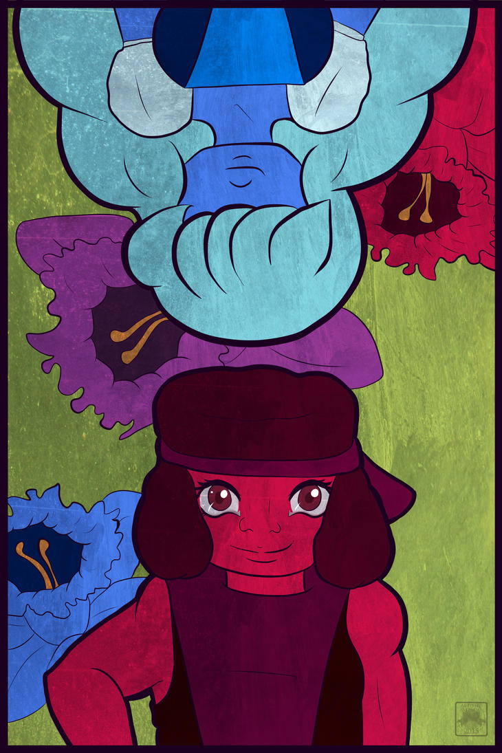 Ruby and Sapphire's Love by DracosDerpyHoof