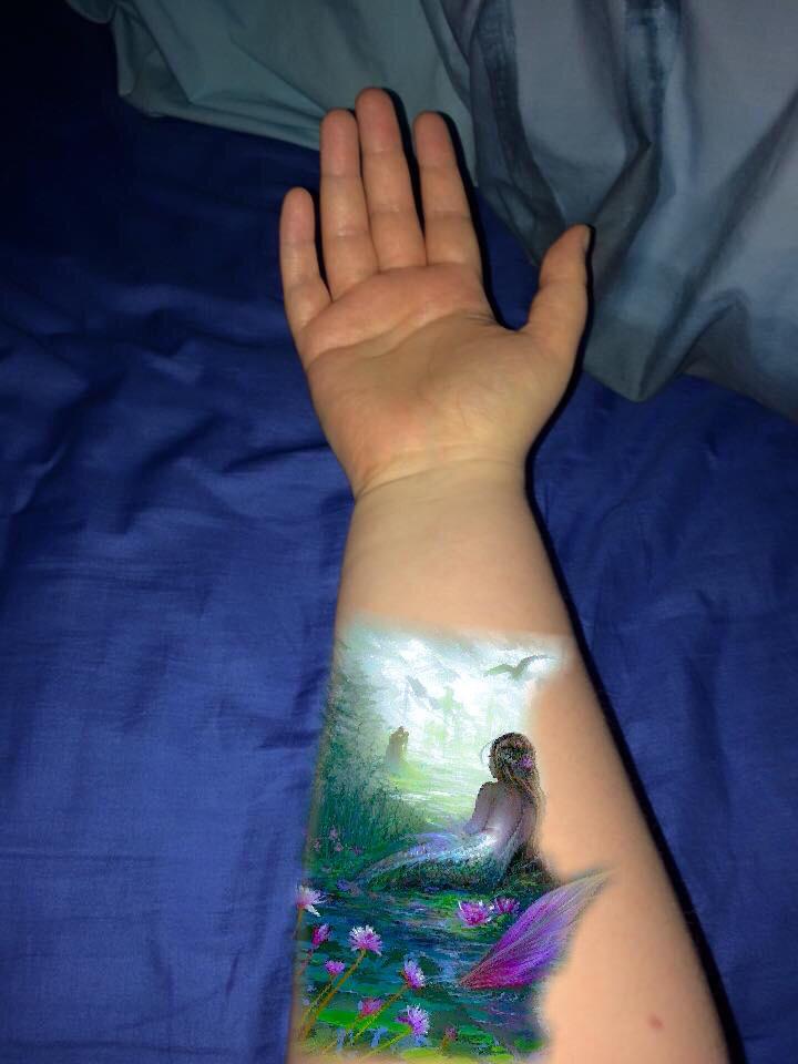 Tattoo Hans Marina Mermaid By Clet303 On Deviantart