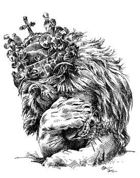 Czech lion