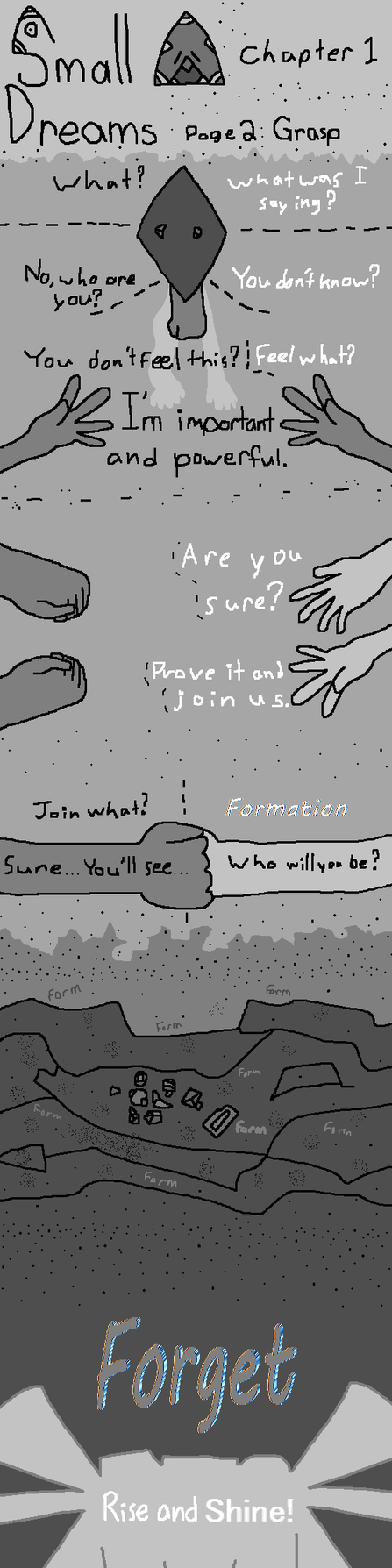 Small Dreams Chapter 1 Page 2: Grasp(SU FanComic) by GIRGHGH