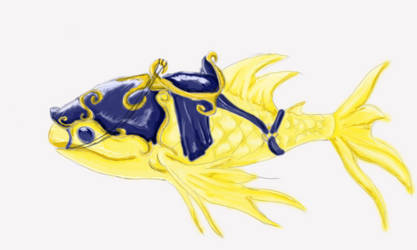 Koi Fish Mount Design