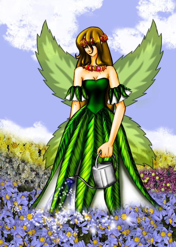 Earth Fairy by Lichtherz on DeviantArt