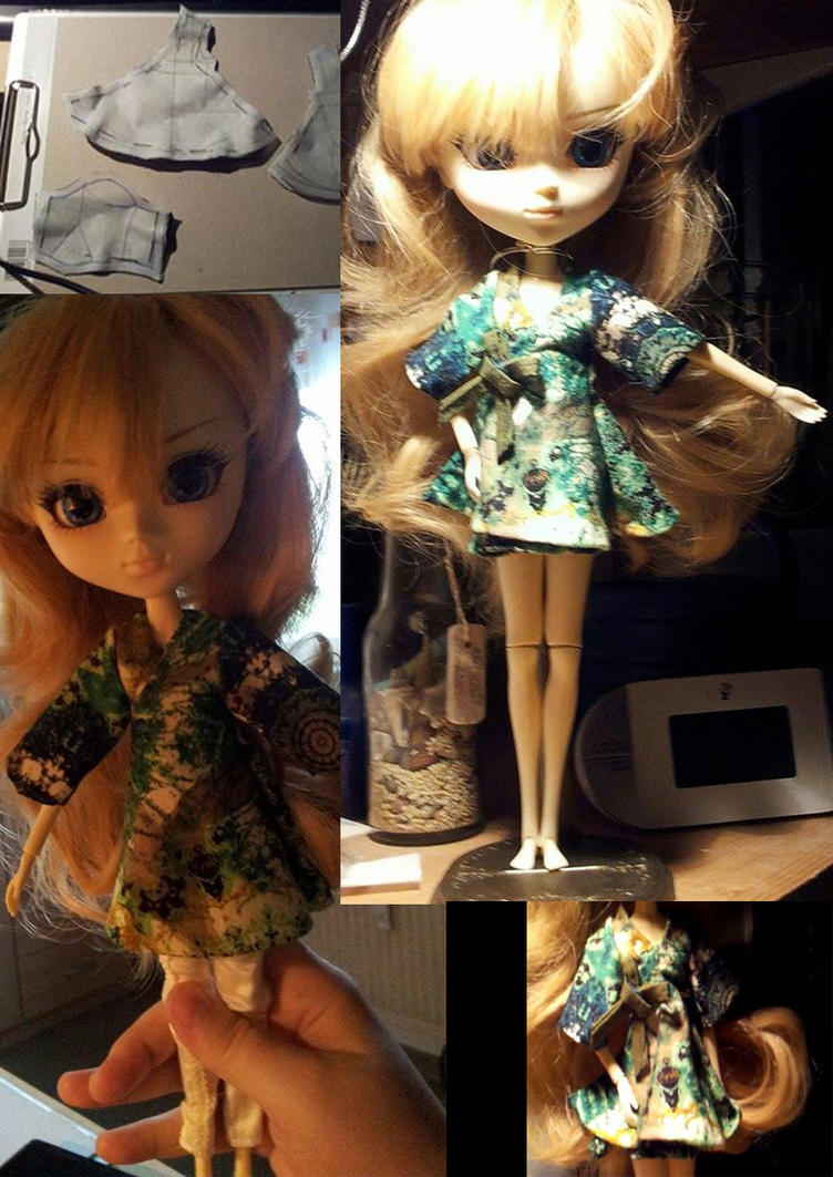 Pullip Doll Dress by Lichtherz
