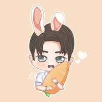 ~ My lovely bunny Wonho ~ (MONSTA X) [FA] by LadyDefsoul