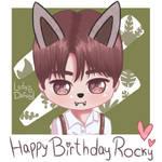 Happy Birthday Rocky ~ (ASTRO) [FA] by LadyDefsoul on DeviantArt