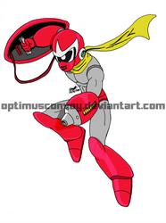 Breakman - Mega Man cartoon by OptimusConvoy