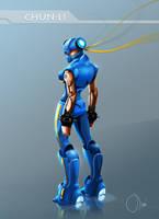 CHUN LI - exoskeleton-like by LAI6