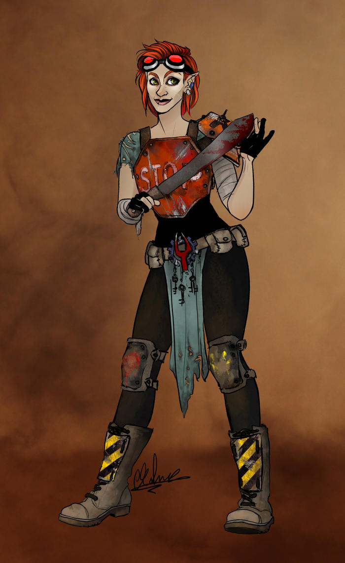 Post-Apoc Aveleen by Rahne-Face