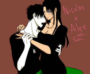 Nicolas x Alex by TamaeKurogane