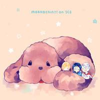 Makkachin!!! On Ice by shelliihe