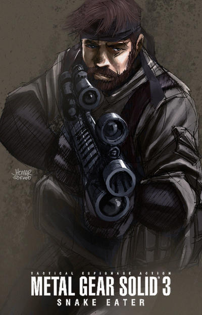 Big Boss by scruffyronin