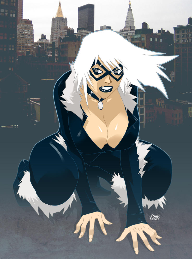Black Cat by scruffyronin