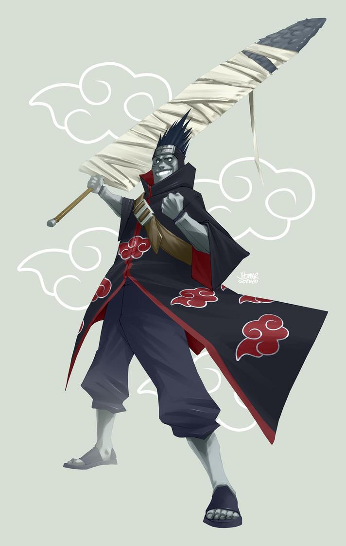 NARUTO: Kisame Hoshigaki by scruffyronin on DeviantArt