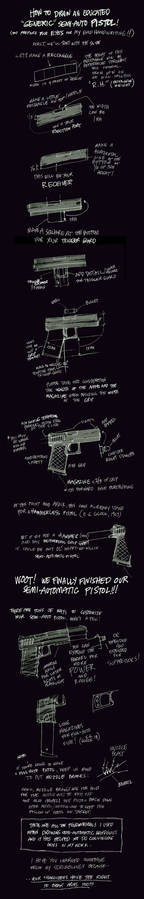 How to Draw a Semi-Auto Pistol