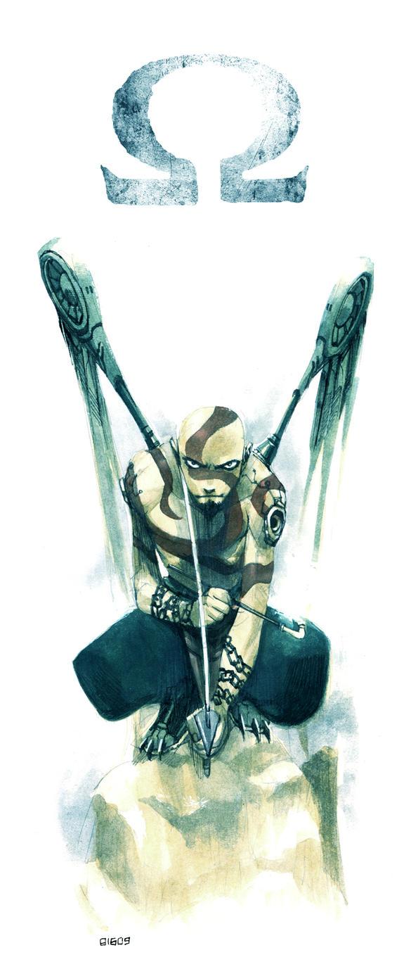 Kratos- Punk of War by scruffyronin
