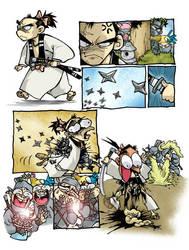 Rumble to Kaga 1 by scruffyronin