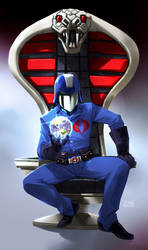 Command Chair by scruffyronin