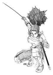 Kunoichi Iaijutsu