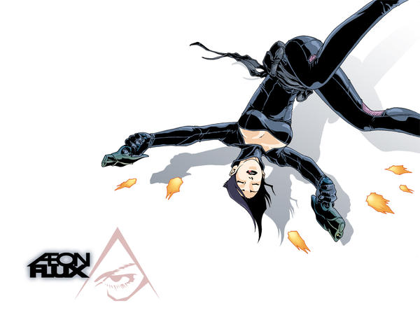 Aeon Flux by scruffyronin on DeviantArt