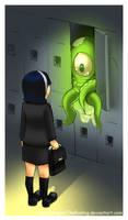 Alien in my locker