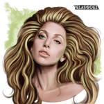 Fanart - Miss Germanotta Portrait