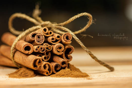 . Cinnamon Sticks .
