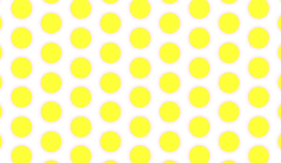 wallpaper yellow polka white spots dots ffffff ffd700 240 36px 99px