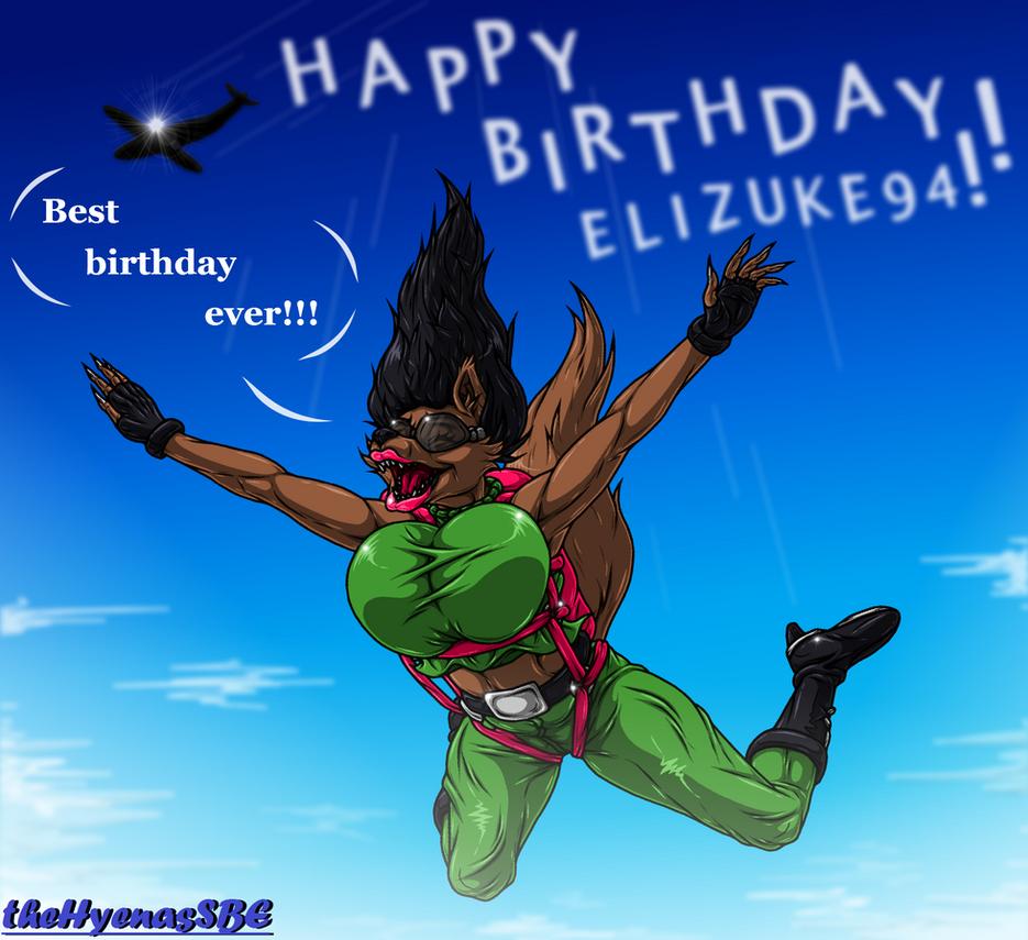 Happy Birthday, Elizuke94 by theHyenasSBE