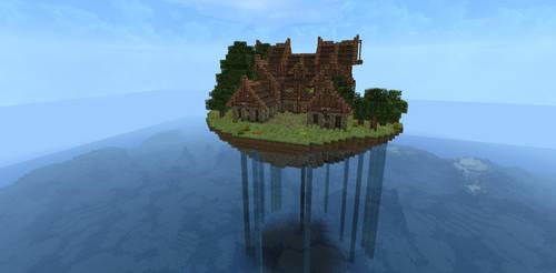 Medieval Mansion by Pugwis
