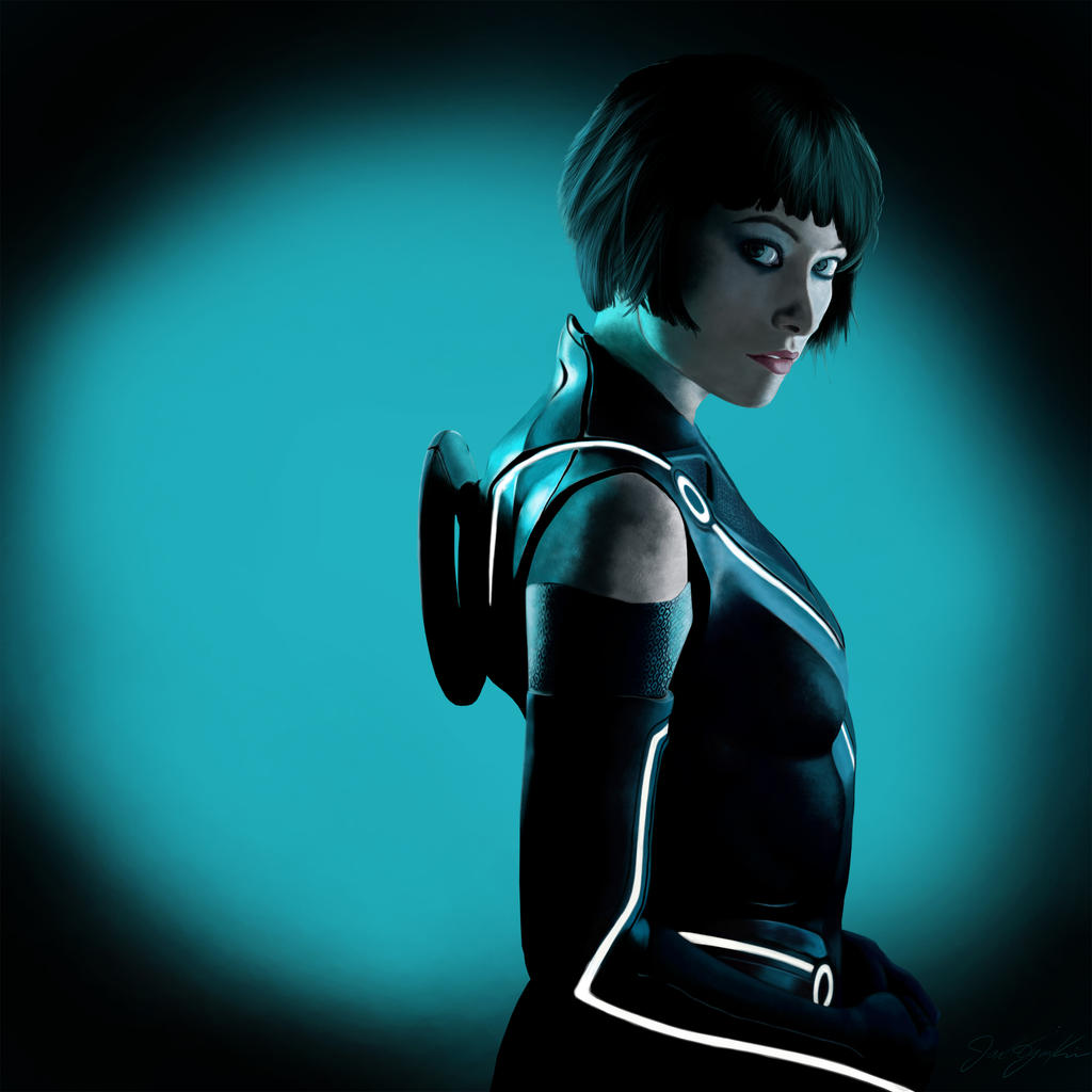 Olivia Wilde Tron Legacy Reproduction By Noxpsycho On
