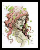 Girl in ivy 3 by Gary Shipman by G-Ship