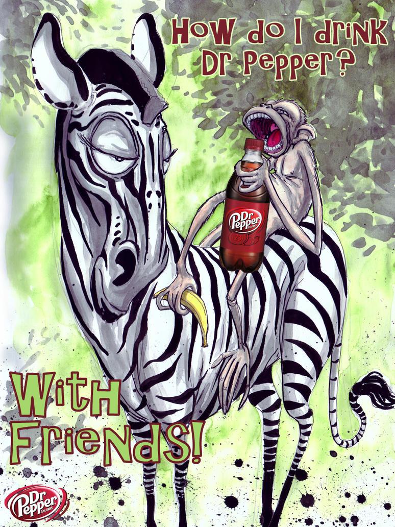 Dr Pepper art 3 Gary Shipman by G-Ship