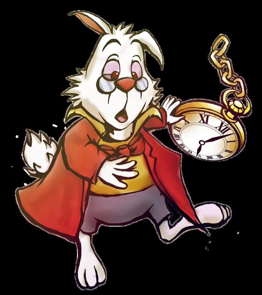 Khinsider Kh Mural  White Rabbit By Zephyrflutist