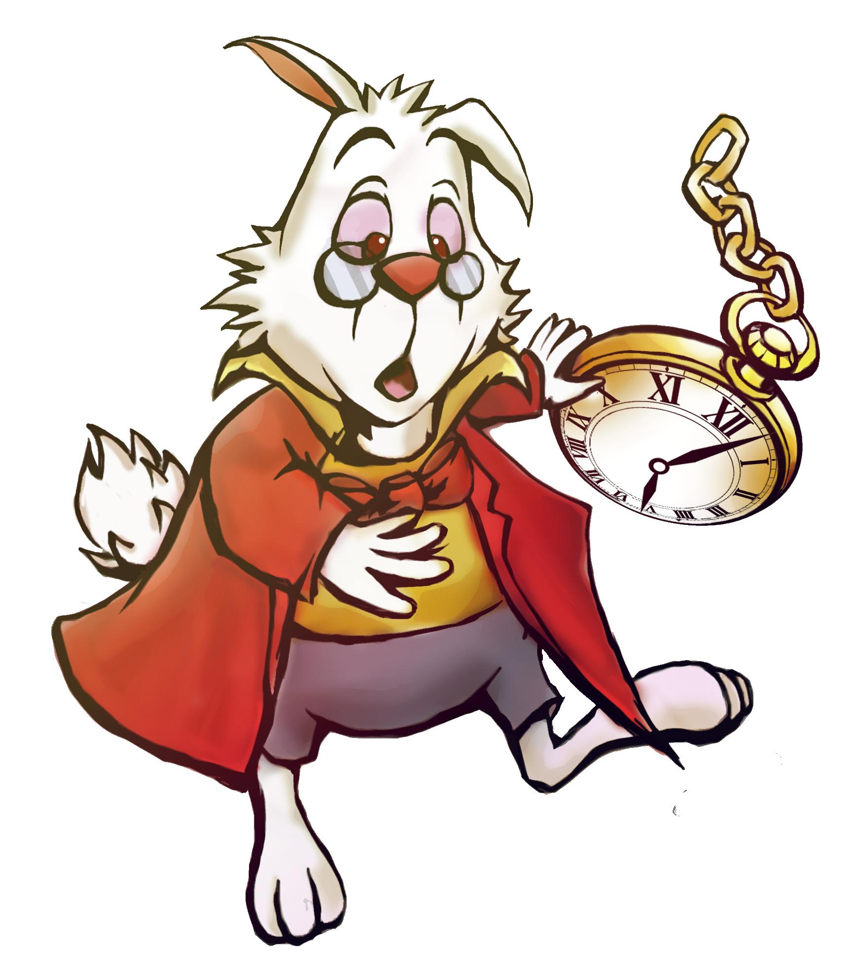 KHInsider KH Mural - White Rabbit by zephyr-flutist on