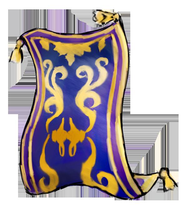 Khinsider kh mural magic carpet by zephyr flutist on for Aladdin carpet animation