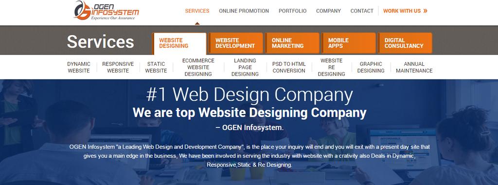 Webdesign by webdesigncompanyin