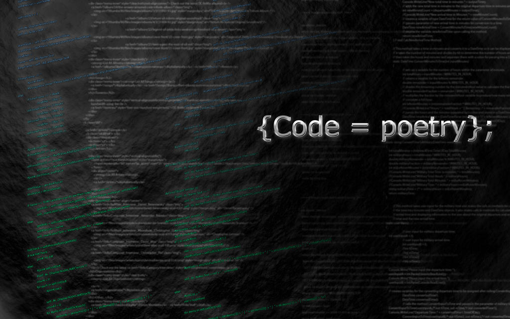 Code is Poetry by ZhangXector