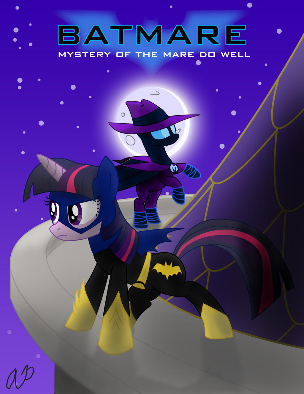 Batmare: Mystery of the Mare Do Well by LanceOmikron