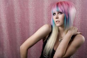 Pink Leopard by ChelliePie