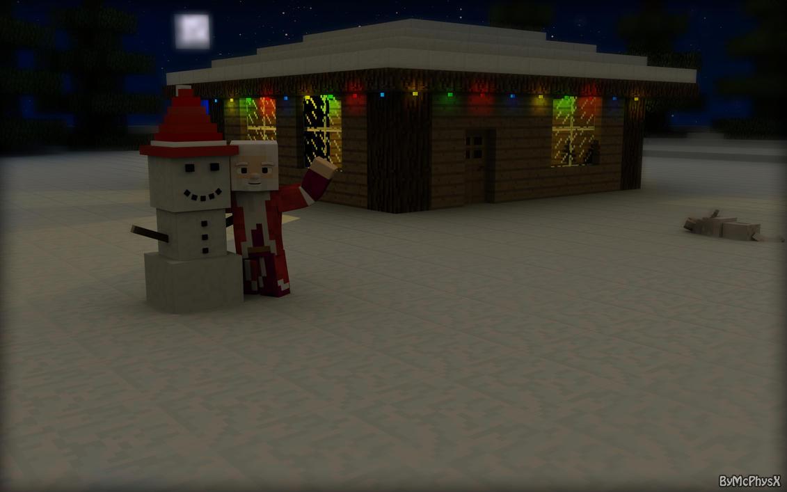 Best Wallpaper Minecraft Christmas - minecraft_christmas___wallpaper_by_mcphysx-d6yvq7c  Photograph_68890.jpg