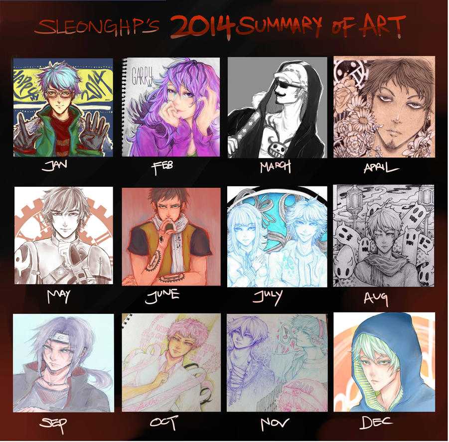 2014 Summary Of Art by sleonghp