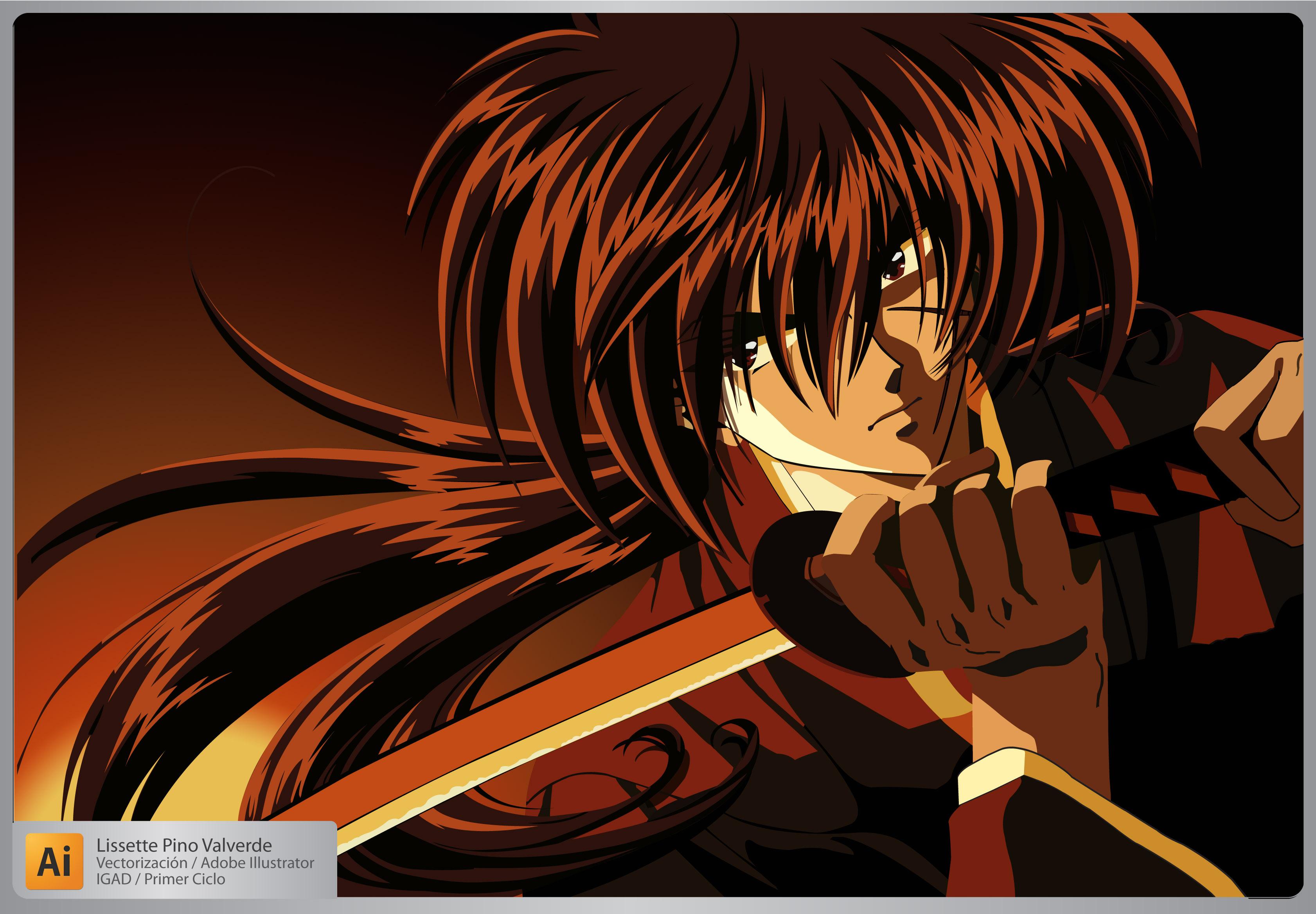 Samurai X by Yuriko200 on DeviantArt
