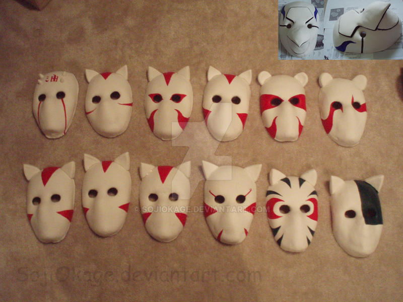 Anbu Mask Tutorial