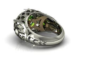 Voyager Ring - CAD by jsbarron