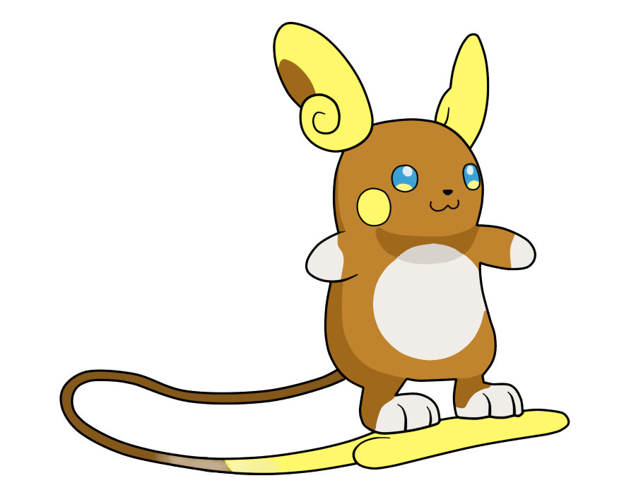 Shiny Alola Raichu Pokemon Images